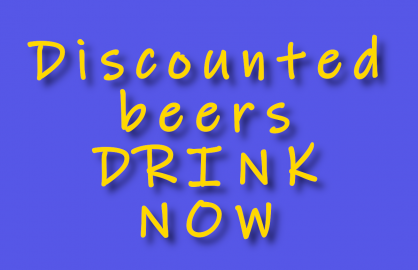 Discounted Beers - Drink Now